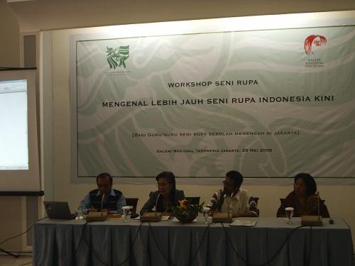 SOUNDING PERKEMBANGAN SENI RUPA INDONESIA