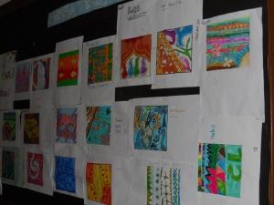 sebuah karya tekstil sebelum diproduksi biasanya diawali dengan sketsa kemudian pemberian warna, dan bisa di atas kertas desain ataupun secara minimalis.....